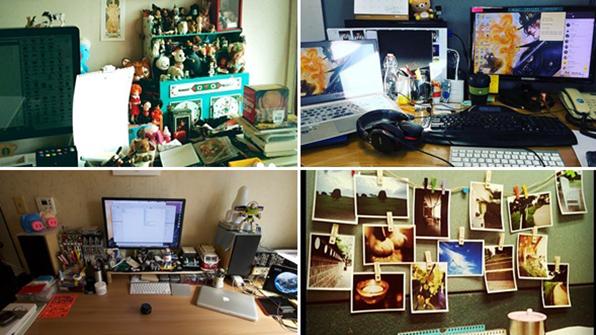 """""""사무실 내 책상, 예쁘게 꾸밀래요""""…'데스크테리어 족' 증가세"""
