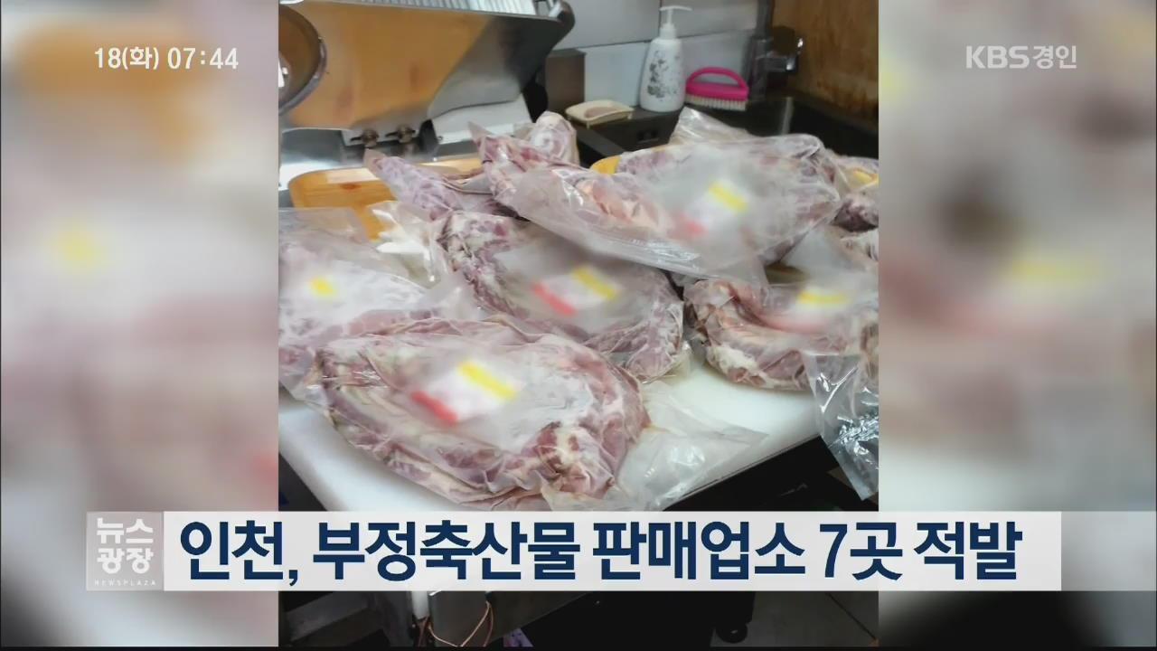 인천, 부정축산물 판매업소 7곳 적발