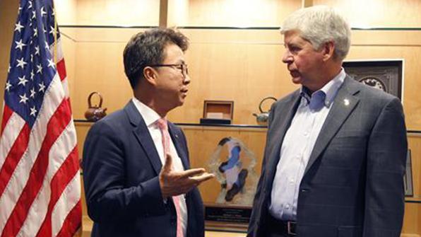 LG전자, 美미시간주에 전기차 부품공장 설립…285억 투자