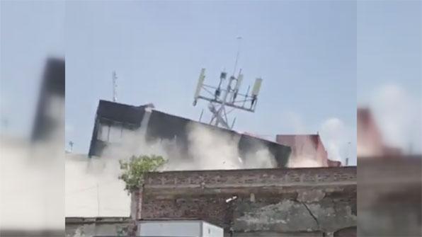 [고현장] 또 멕시코 지진 참사…충격적인 지진 현장
