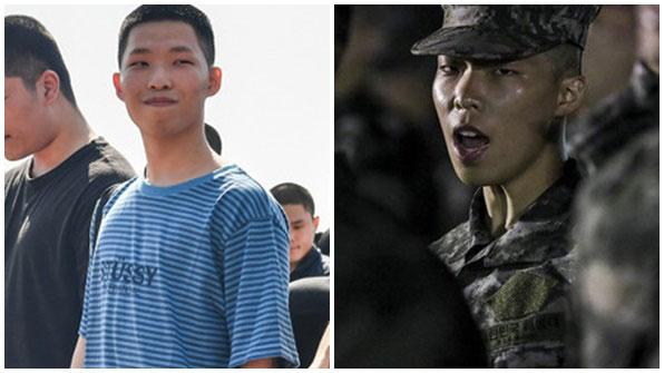 """[K스타] 해병대 블로그에 올라온 이찬혁…""""군복이 잘 어울려"""""""