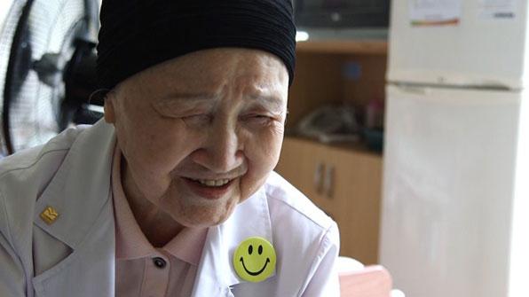 노인 환자에게 희망 주는 '91세 현역 의사'