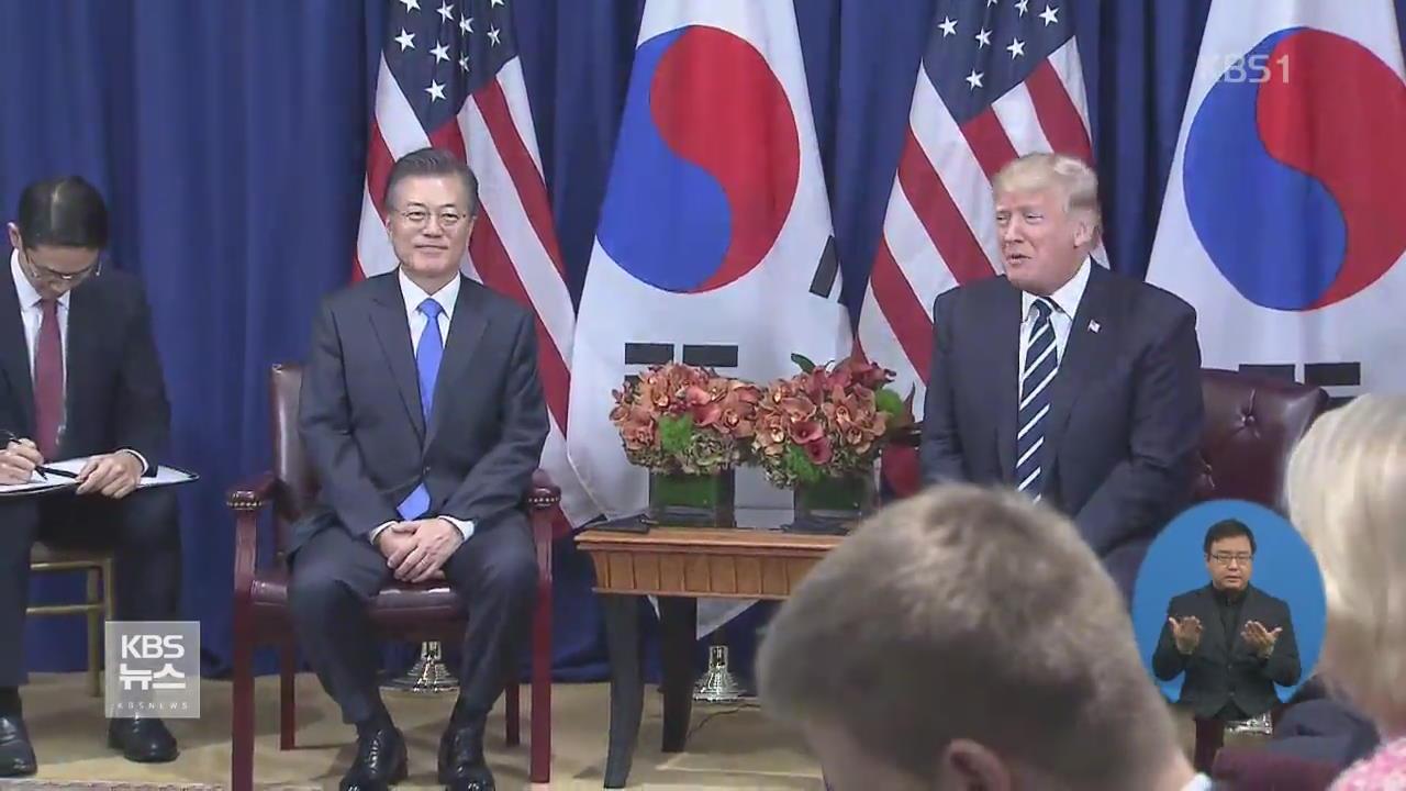 文 대통령-트럼프, 다음달 초 서울서 한미정상회담