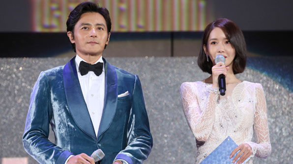 [BIFF2017] 비 내리는 부산국제영화제, 화려한 개막식