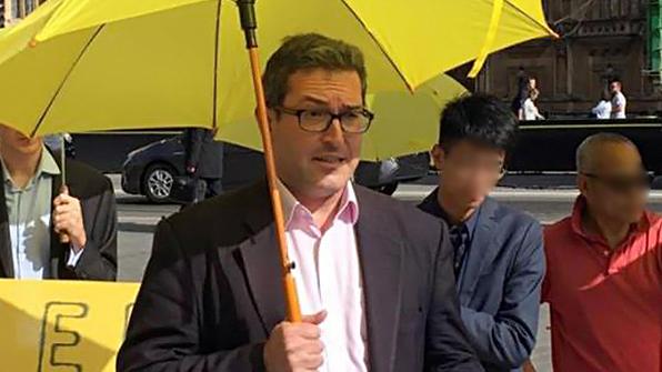 홍콩 정부, 영국 인권운동가 입국 금지
