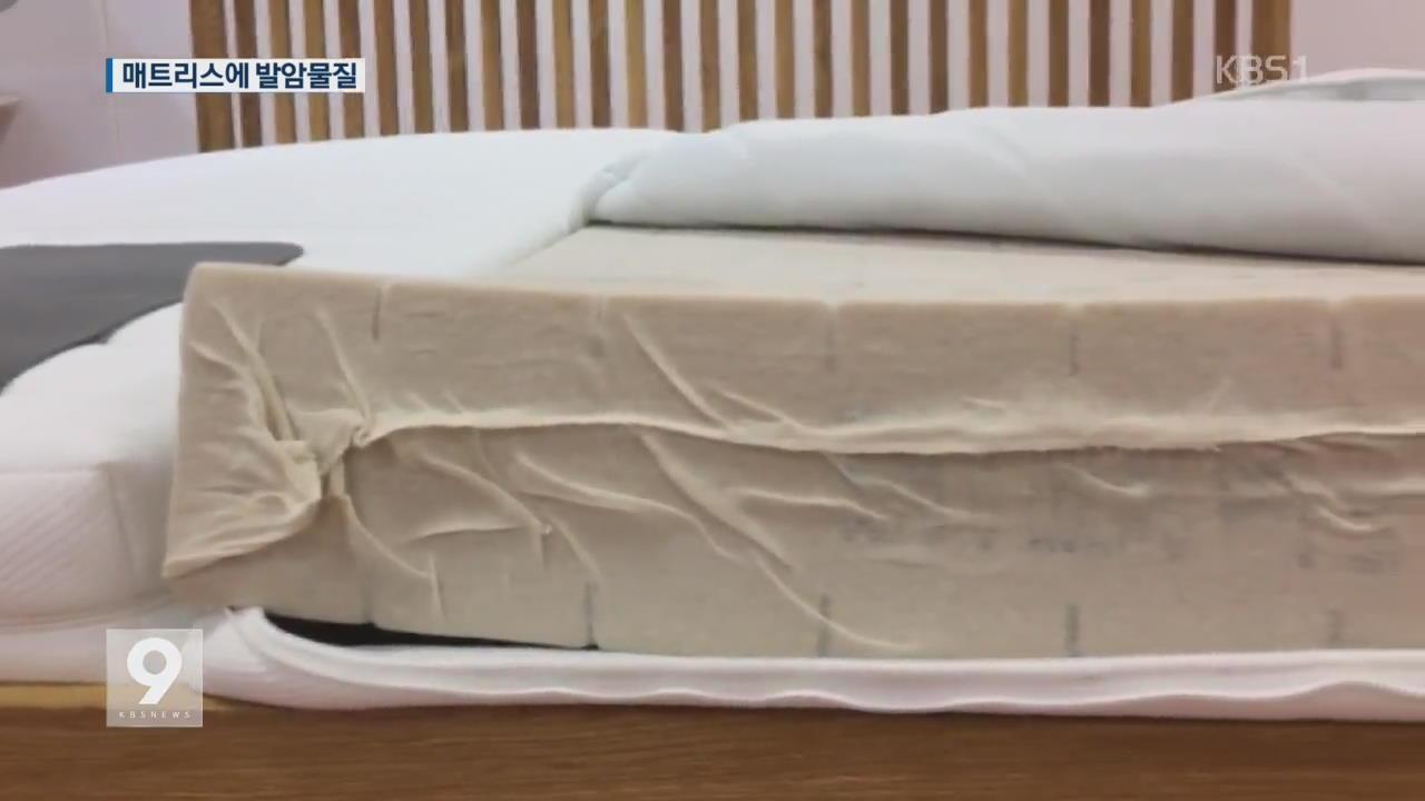 살충제 이어 '발암 매트리스' 파문…유럽 '발칵'