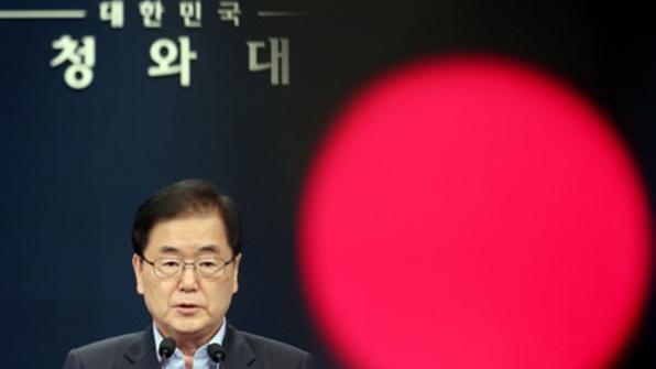 """靑안보실장 """"대화·국제 공조로 북핵 평화적 해결…코리아 패싱 없다"""""""