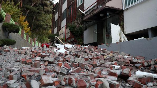 포항 일대 지진 공포 계속…오후 6시 현재 총 48회 여진