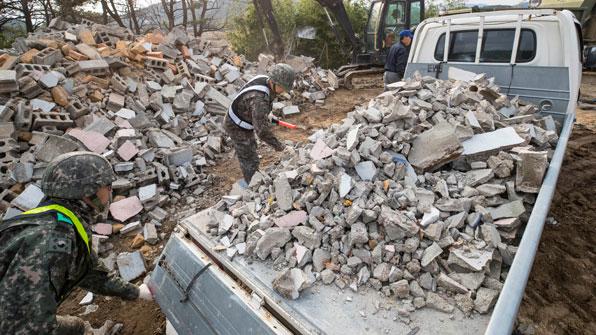 포항 지진 피해액 522억원으로 잠정 집계
