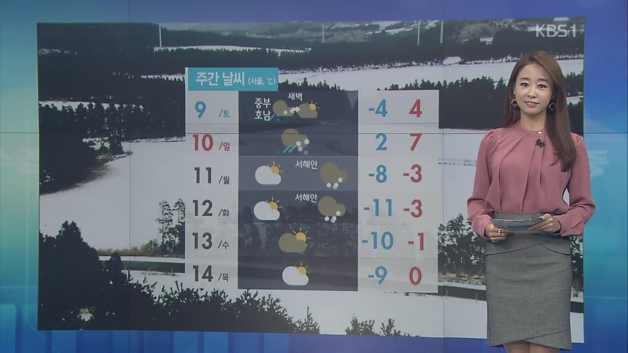 [날씨 집중] 내일부터 추위 누그러져