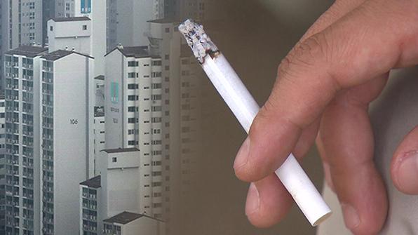 내년 2월부터 아파트 층간흡연 신고시 경비원 출동