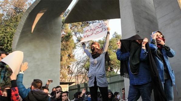이란 혁명수비대 배치, 친정부 집회…시위·소요 진정세