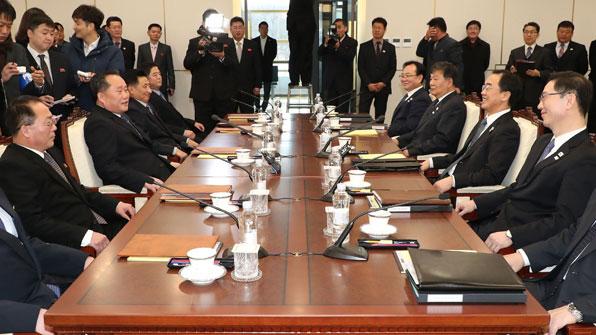 """""""15일 평창 실무 회담 제의""""…수석대표에 천해성 통일부 차관"""