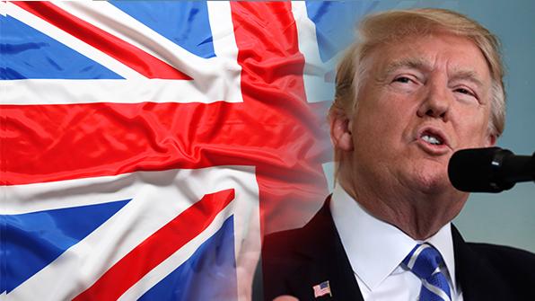 """트럼프 영국방문 취소…""""오바마의 '나쁜 거래' 축하하러 안가"""""""