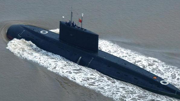 """일본 언론 """"中 공격형 핵잠수함이 센카쿠 접속수역 항행"""""""