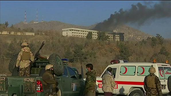 아프간 호텔인질극 최소 6명 사망…탈레반 배후 자처
