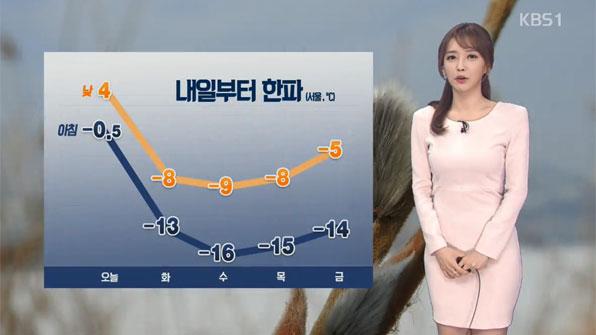 오후부터 전국 눈 '최고 8cm'…미세먼지 가고 '최강 한파' 온다
