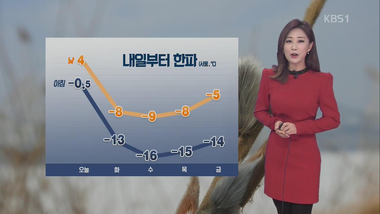 오후부터 전국 눈 '최고 8cm'…미세먼지 가고 .. 관련 사진