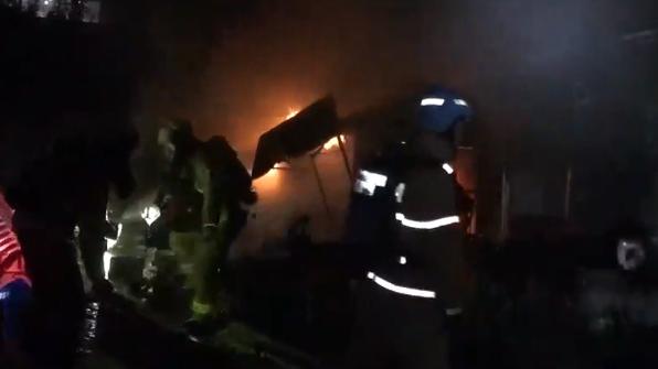 서울 광진구 식당에서 불…고시원에 있던 20명 대피