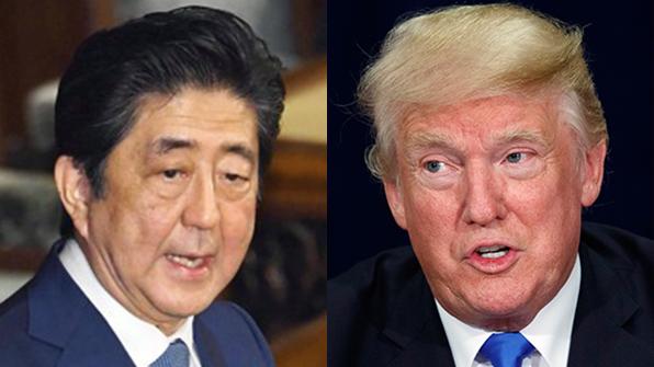 """트럼프-아베 전화, """"비핵화 전제 없이 북한과 의미 있는 대화 할 수 없어"""""""