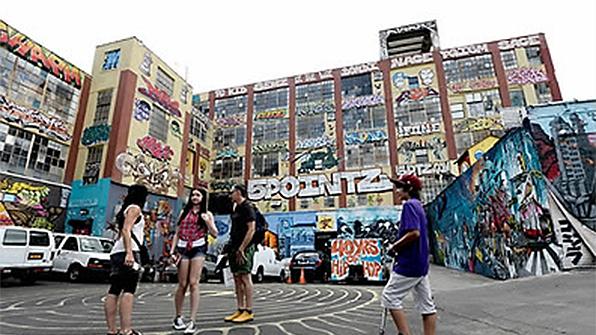 뉴욕 법원, '그라피티도 예술'…훼손한 건물주에 거액 배상 판결