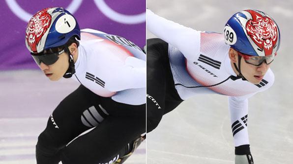 임효준·서이라 남자 1,000m 결승 동반 진출
