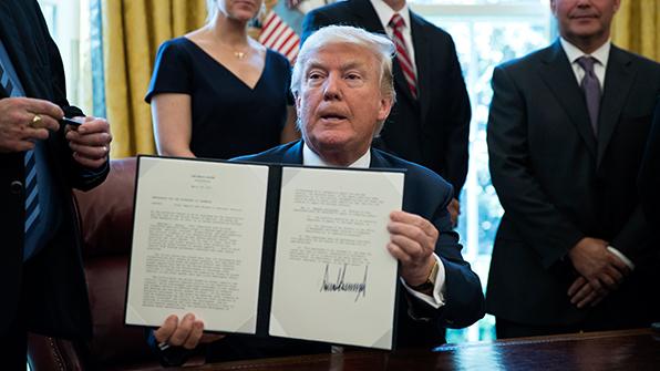 """미국내 6개 자유무역단체, 트럼프에 """"철강규제 말라"""" 공개서한"""