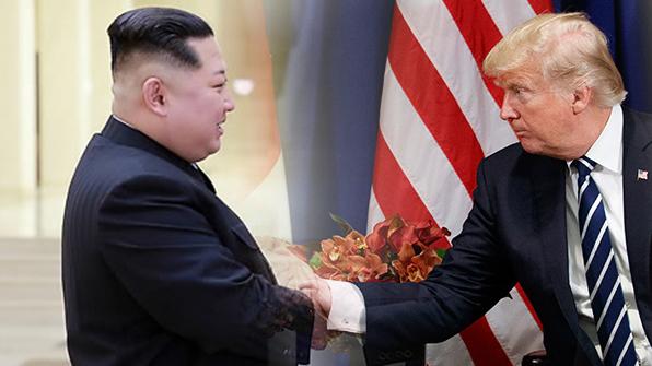 "NHK, ""트럼프, 김정은 만나기로"" 긴급 속보"