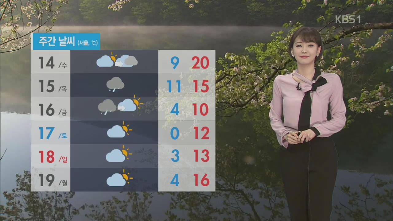 전국 오전까지 미세먼지 '나쁨'…서울 한낮 17도 '포근'