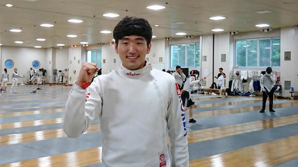 펜싱 박상영, 실업팀 입단해 첫 국내대회서 개인전 우승