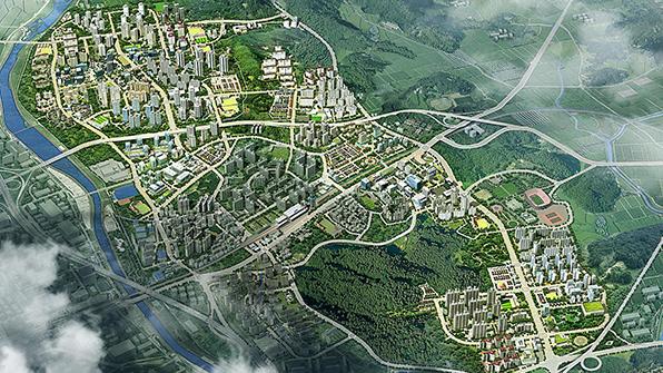 남양주 다산신도시 철도·도로 방음 터널 설치