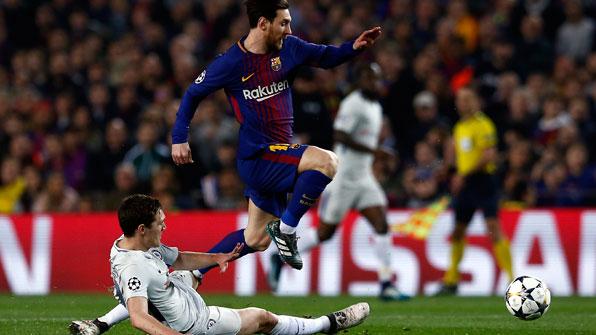 '메시 2골 1도움' 바르사, 첼시 꺾고 UEFA 챔스리그 8강 진출