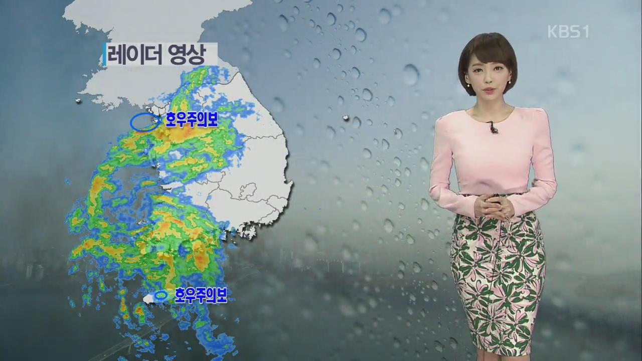 전국에 '봄비'…서울 한낮 기온 14도