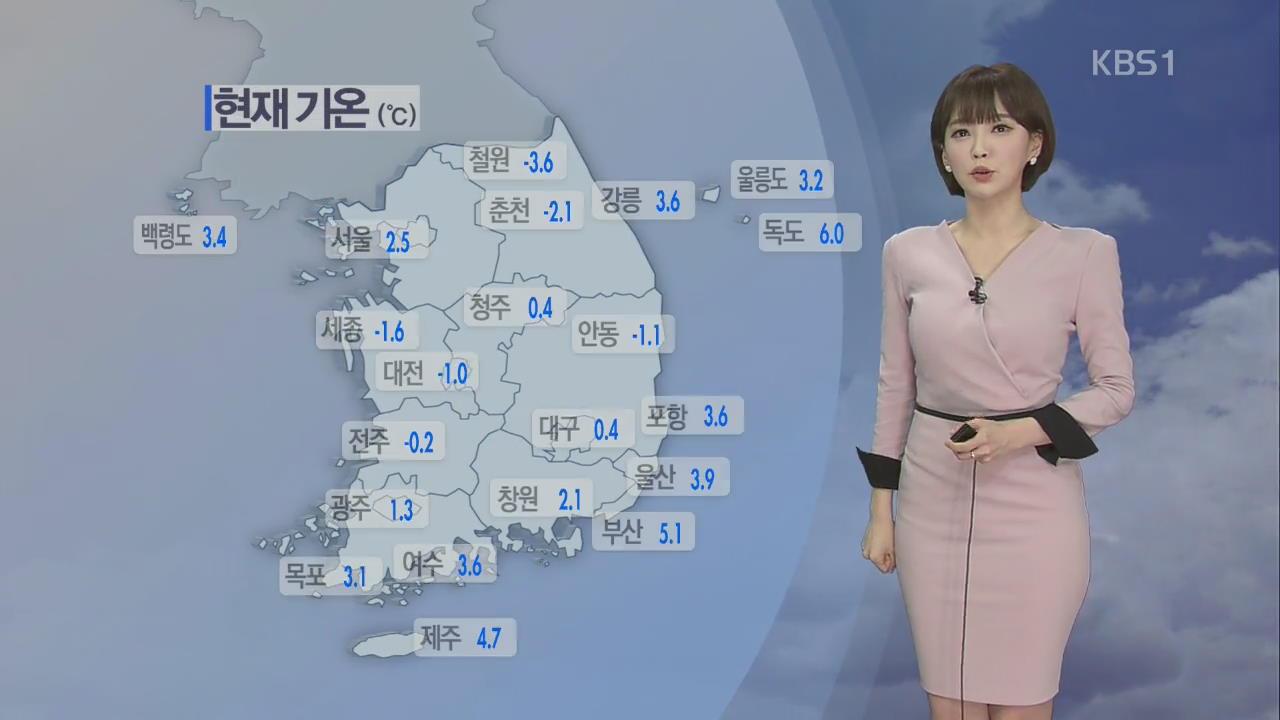 전국 곳곳 미세먼지 '나쁨'…서울 한낮 13도 관련 사진