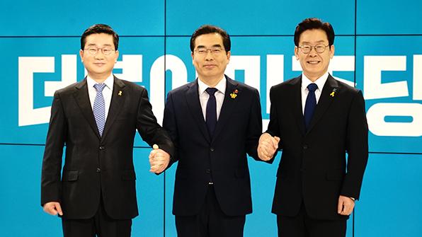 민주당 경기지사 경선 첫 토론…자질·도덕성 '설전'