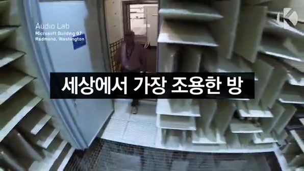 [라인뉴스] 세상에서 가장 조용한 방