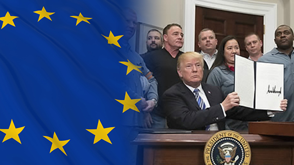 EU, 美 알루미늄·철강 관세 WTO에 정식 제소