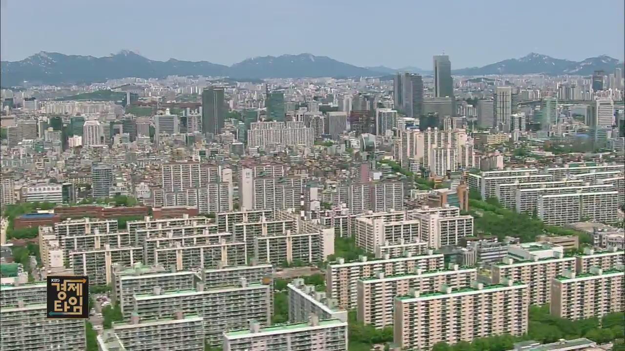 지난달 강남 4구 주택 거래 60% 급감