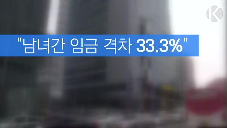 """[자막뉴스] 인권위 """"남녀간 임금 격차 33.3%"""""""
