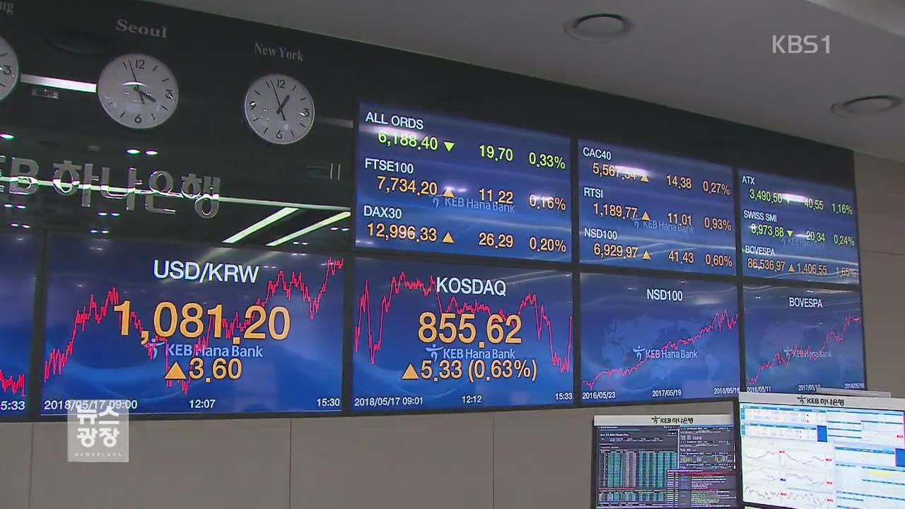 '외환시장 개입 내역 공개' 결정…환율 관리 제약?