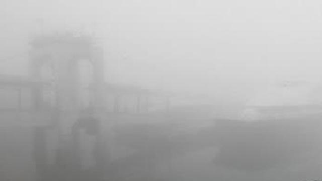 서해 앞바다 안개…인천 10개 항로 여객선 운항 차질