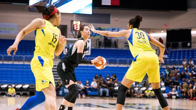 박지수, 15년 만에 한국 선수로 WNBA 개막 엔트리 선발