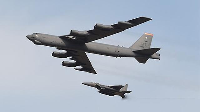 """""""B-52 폭격기, 어제 한반도 인근 비행…KADIZ 진입은 안해"""""""