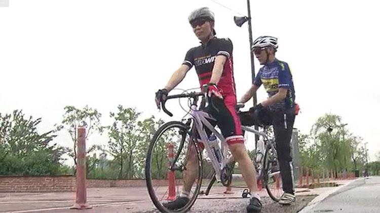 네다리로 가는 자전거 타고~ 시각장애 라이더의 특별한 국토종주