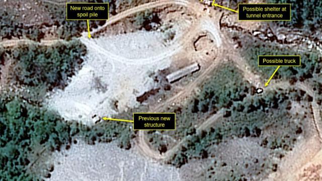 취재진 풍계리 근접…이르면 오늘 北핵실험장 폐기할 듯