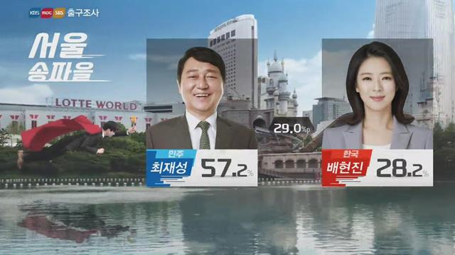 [출구조사②] 국회의원 재보궐…민주 10곳, 한국 1곳 '당선 예상'