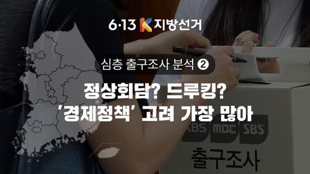 [심층 출구조사②] '드루킹·정상회담' 보다 '경제정책' 고려했다
