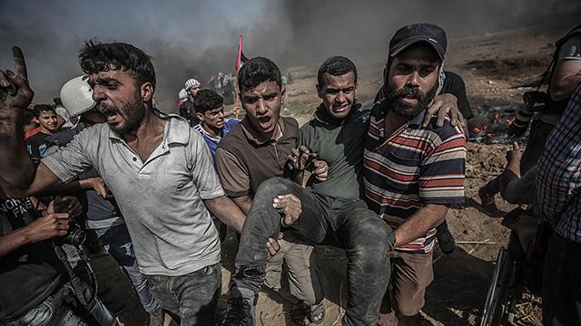 유엔, '가자지구 유혈사태' 이스라엘 규탄 결의