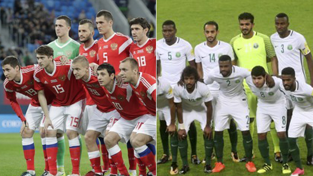 [월드컵 LIVE] A조 러시아 : 사우디아라비아
