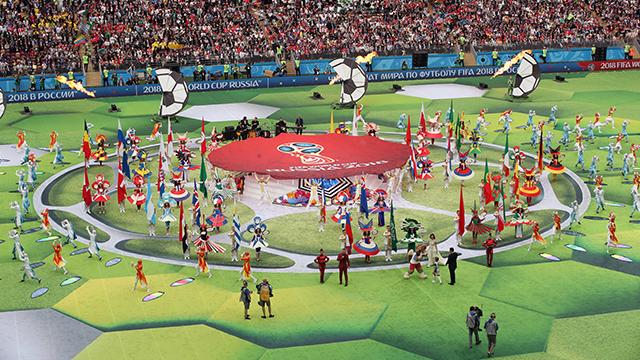 '지구촌 축구 축제' 2018 러시아 월드컵 개막